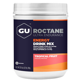 GU Energy Roctane Ultra Endurance Energy Drink - Nutrición deportiva - Tropical Fruit 780g